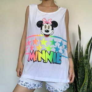 Vintage Minnie Tank Top with Crazy Eyes